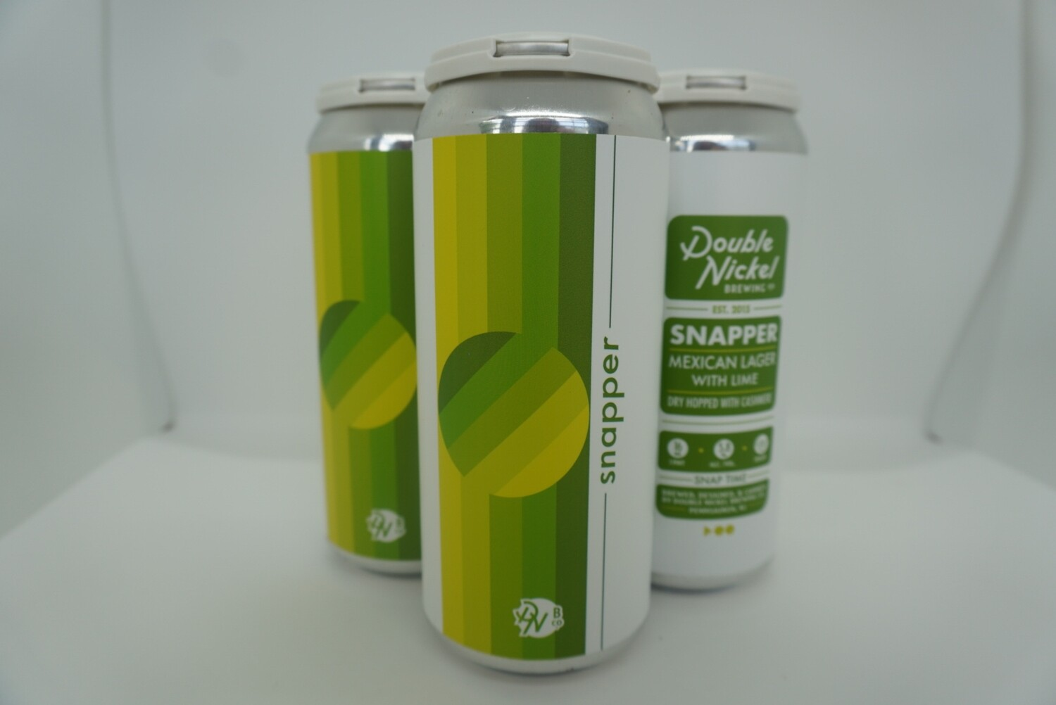 Double Nickel - Snapper Dry Hop - Mexican Lager - 5.8% ABV - 4 Pack