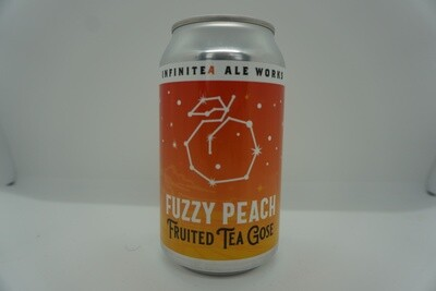 Infinite - Fuzzy Peach Tea Gose - Sour - 5.5% ABV - 12oz Can