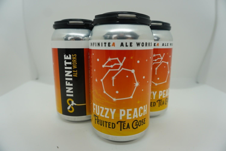 Infinite - Fuzzy Peach Tea Gose - Sour - 5.5% ABV - 4 Pack