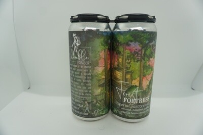 Humble Forager - Forest Fortress - Stout - 12% ABV - 2 Pack Cans