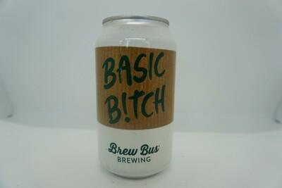 Brew Bus - Basic Bitch - Milk Stout - 5% ABV - 12oz Can