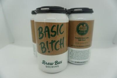 Brew Bus - Basic Bitch - Milk Stout - 5% ABV - 4 Pack