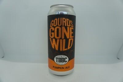 TBBC - Gourds Gone Wild - Pumpkin Beer - 5.5% ABV - 16oz Can