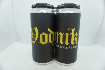 Angry Chair - Vodnik - Czech Pilsner - 5.6% ABV - 4 Pack