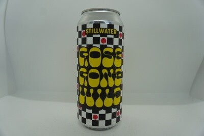 Stillwater - Gose Gone Wild - Sour - 4.3% ABV - 16oz Can
