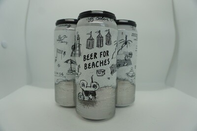 Off Color - Beer For Beaches - Saison - 6% ABV - 4 Pack
