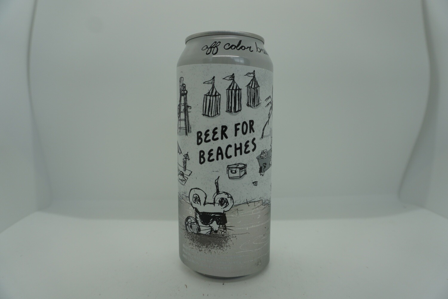 Off Color - Beer For Beaches - Saison - 6% ABV - 16oz Can
