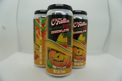 O'Fallon - Mexican Hot Chocolate Pumpkin - Pumpkin Beer - 6.5% ABV - 4 Pack
