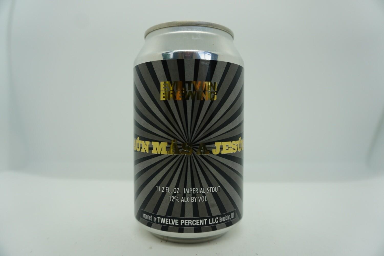 Evil Twin - Aún Más A Jesús - Imperial Stout - 12% ABV - 11.2oz Can