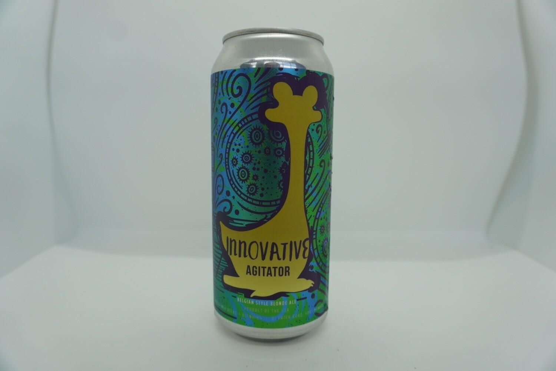 Oozlefinch - Innovative Agitator - Belgian Blonde - 6.2% ABV - 16oz Can