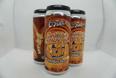 O'Fallon - Salted Caramel Pumpkin Ale - Pumpkin Beer - 4.3% ABV - 4 Pack