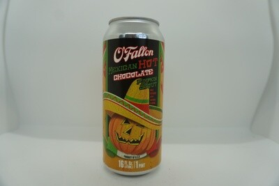 O'Fallon - Mexican Hot Chocolate Pumpkin - Pumpkin Beer - 6.5% ABV - 16oz Can