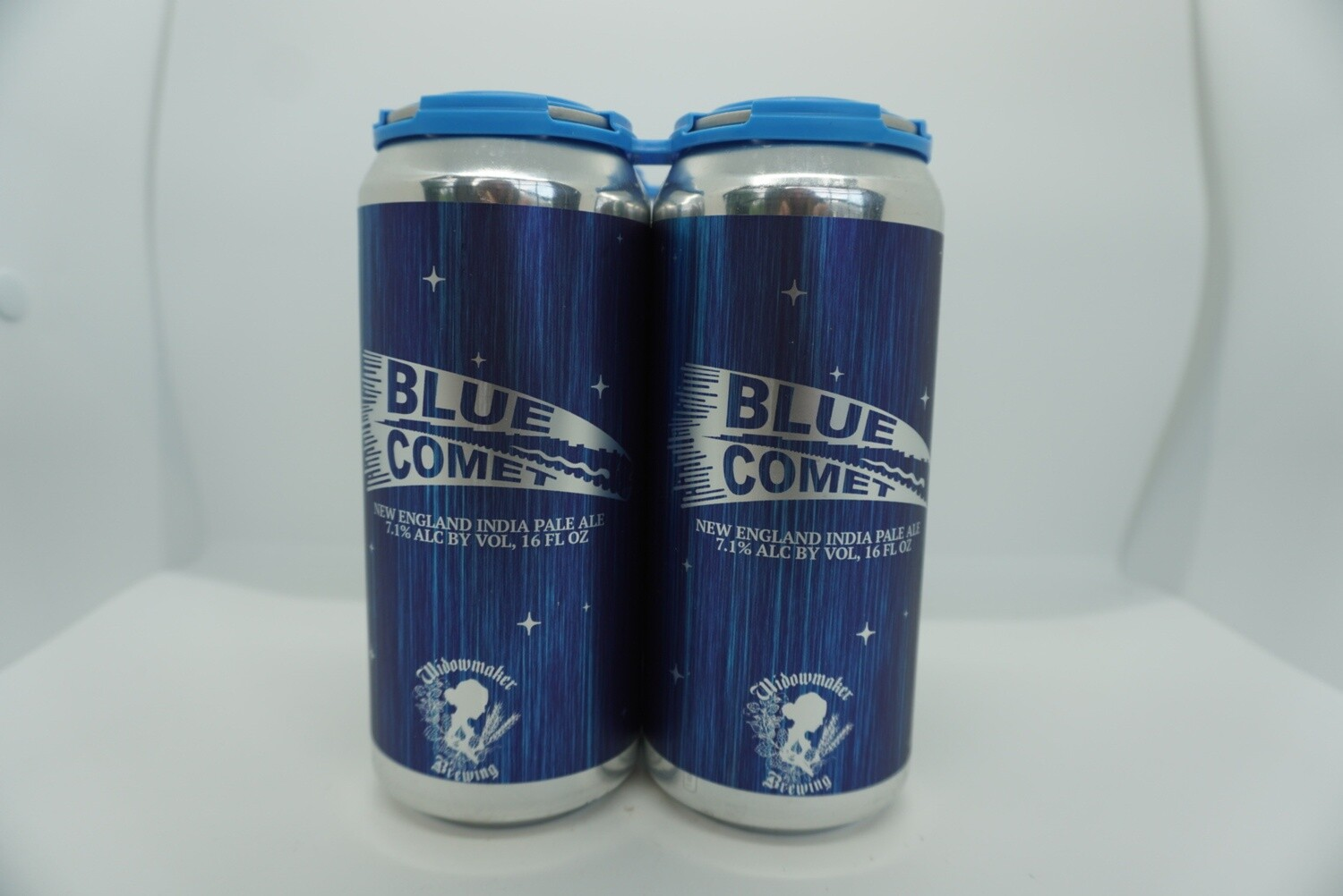 Widowmaker Brewing - Blue Comet - New England IPA - 7.1% ABV - 4 Pack