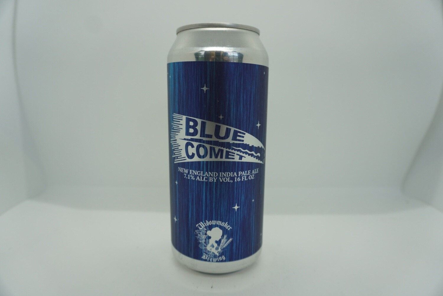 Widowmaker Brewing - Blue Comet - New England IPA - 7.1% ABV - 16oz Can