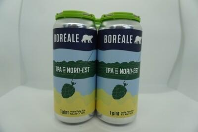 Boréale - IPA du Nord-Est - New England IPA - 6% ABV - 4 Pack