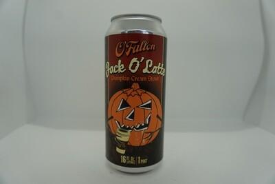 O'Fallon - Jack O Latte - Milk/Sweet Stout - 6.5% ABV - 16oz Can