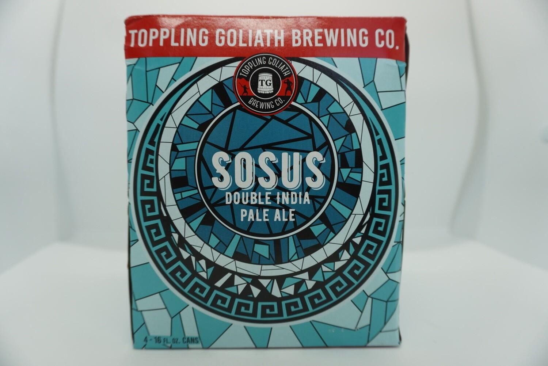 Toppling Goliath - SOSUS - DIPA - 7.8% ABV - 4 Pack