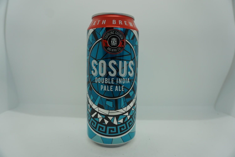 Toppling Goliath - SOSUS - DIPA - 7.8% ABV - 16oz Can