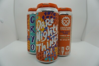 The Brewing Projekt - Dare Mighty Things: Citra - New England IPA - 6.4% ABV - 4 Pack
