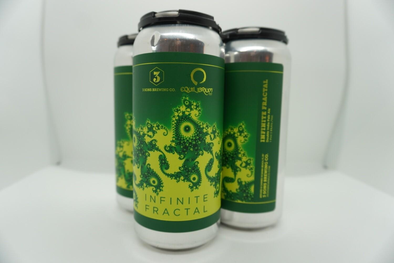 3 Sons - Infinite Fractal - DIPA - 8% ABV - 4 Pack