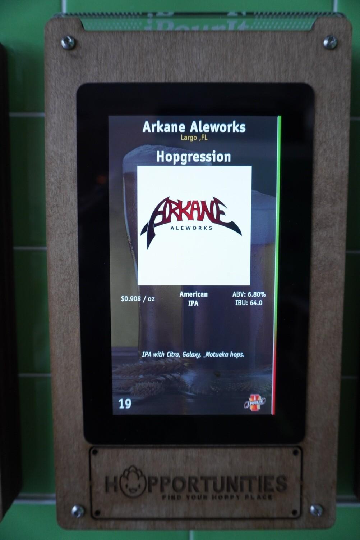 Arkane Aleworks - Hopgression - IPA - 6.8% ABV - 32oz Crowler (Can)