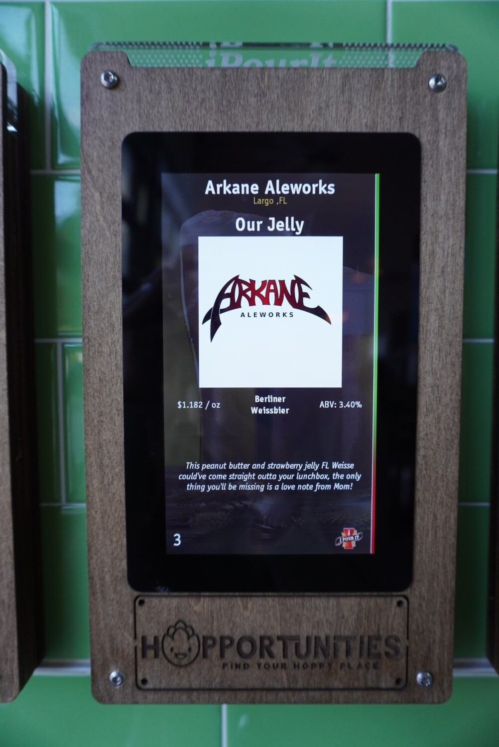 Arkane Aleworks.- Our Jelly - Sour - 3.4% ABV - 32oz Crowler (Can)