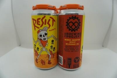 The Brewing Projekt - Resist: Mango Smoothie - Milkshake IPA - 7% ABV - 4 Pack