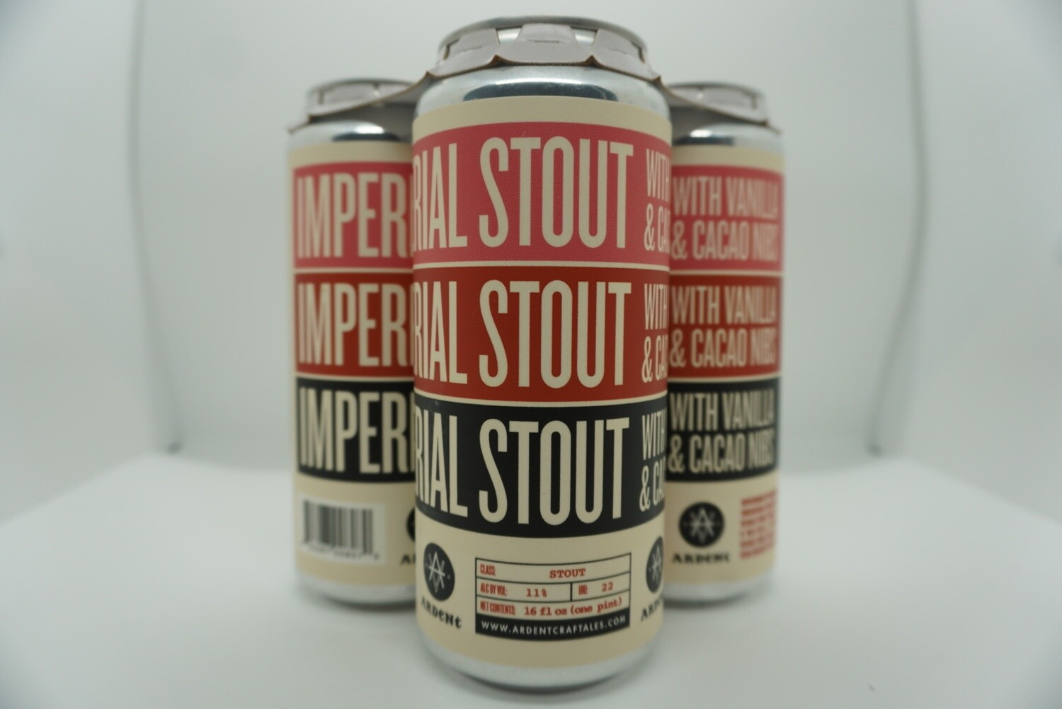 Ardent Ales - Imperial Milk Stout - Stout - 10% ABV - 4 Pack
