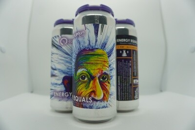 Equilibrium - Energy Equals - DIPA - 8% ABV - 4 Pack