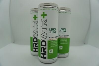 HRD WTR + Lemon Lime - Seltzer - 4% ABV - 4 Pack