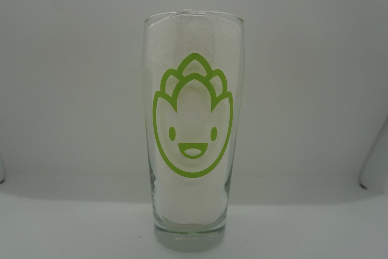 Tall Hop Becher Glass
