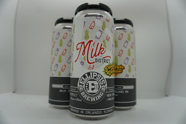 Ellipsis - Milk District - Milkshake NEIPA - 7% ABV - 4 Pack
