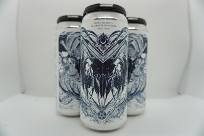 Adroit Theory - Now I Am Death, Destroyer of Worlds - IPA - 10% ABV - 4 Pack