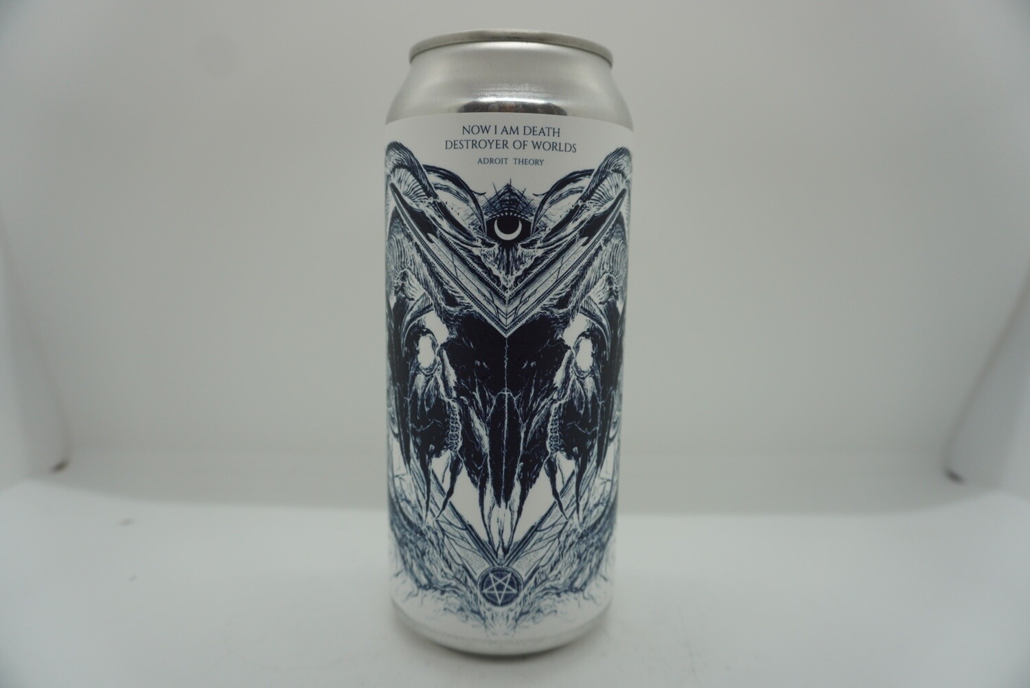 Adroit Theory - Now I Am Death, Destroyer of Worlds - IPA - 10% ABV - 16oz Can