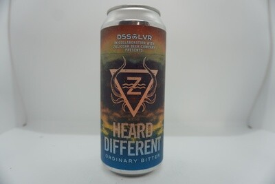 DSSOLVR - Heard Different - English Bitter - 3.5% ABV - 16oz Can
