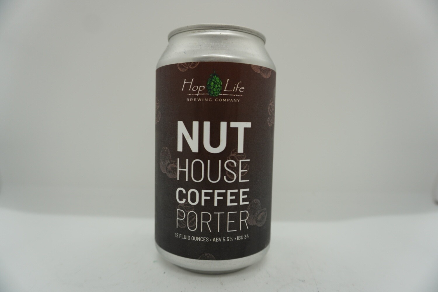 Hop Life - Nut House Coffee Porter - Porter - 5.5% ABV - 12oz Can