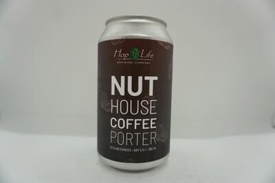 Hop Life - Nut House Coffee Porter - Porter - 5.5% ABV - 12oz Can