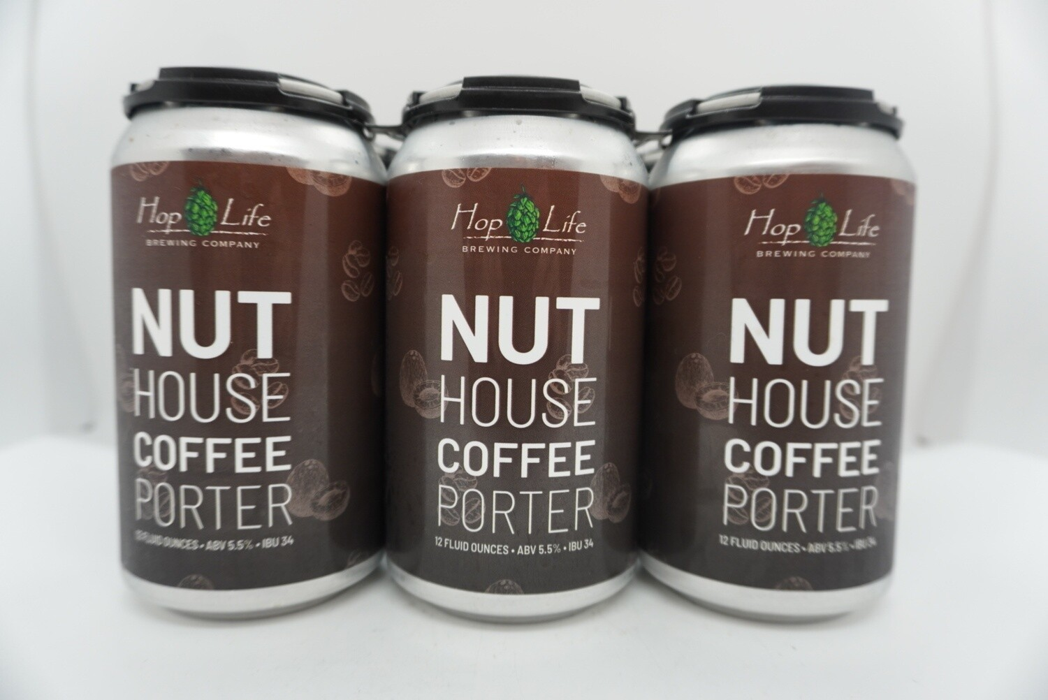 Hop Life - Nut House Coffee Porter - Porter - 5.5% ABV - 6 Pack