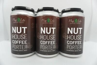 Hop Life - Nut House Coffee Porter - Porter - 5.5% ABV - 6 Pack