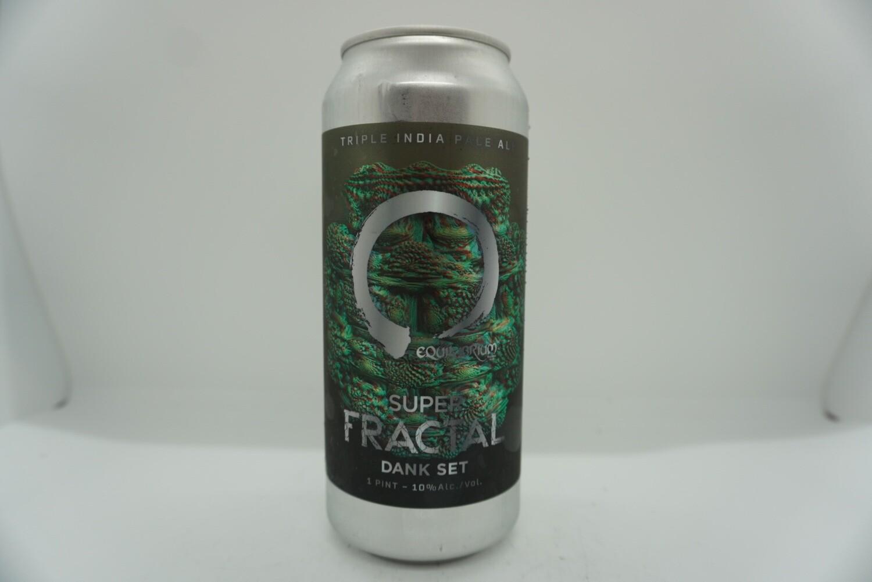 Equilibrium - Super Fractal Dank Set - Triple IPA - 10% ABV - 16 oz Can