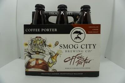 Smog City - Coffee Porter - Porter - 6% ABV - 6 Pack Bottles