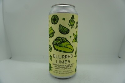 Hidden Springs - Blurred Limes - Sour - 5.5% ABV - 16oz Can