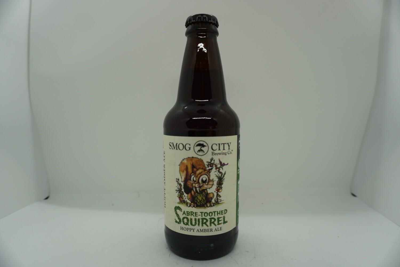 Smog City - Saber-Toothed Squirrel - Hoppy Amber Ale - 7% ABV - 12oz Bottle