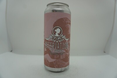 Widowmaker - Reservations At Dorsia - DIPA - 8% ABV - 16oz Can