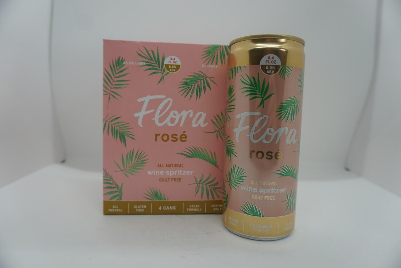 Flora Wines - Flora Rosé Wine Spritzer - Rosé - 6% - 4 Pack