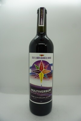 Solo El Amor Salvara al Mundo - Multiversum Coupage - Red Wine - 14.5% - 750mL Bottle