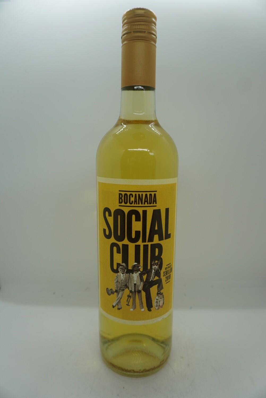 Bocanada - Social Club - White Wine - 12.2% - 750mL Bottle