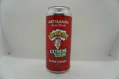 Artisanal Brew Works - Warheads Extreme Sour Black Cherry - Sour Fruited - 5% ABV - 160z Can