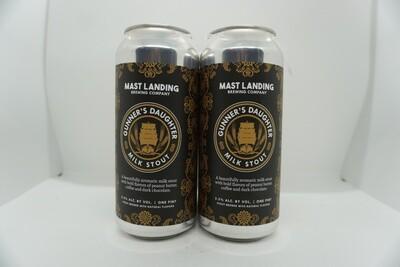 Mast Landing - Gunner's Daughter - Milk Stout - 5.5% ABV - 4 Pack