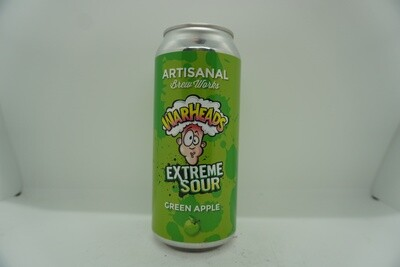 Artisanal Brew Works - Warheads Extreme Sour Green Apple - Sour Fruited - 5% ABV - 160z Can